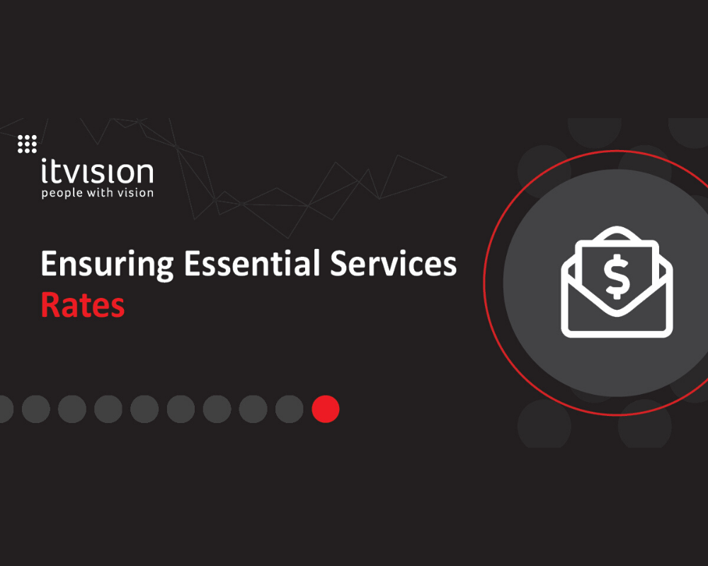 Ensuring Essential Services - Rates Process Management
