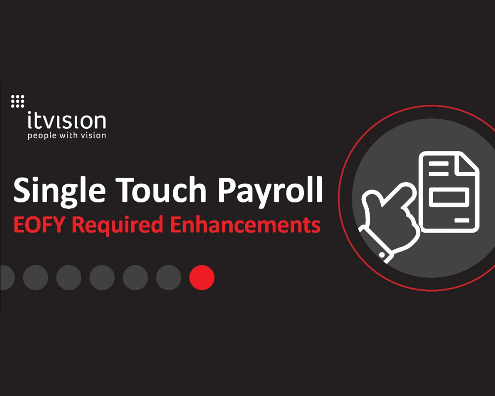 EOFY Required Updates for Single Touch Payroll