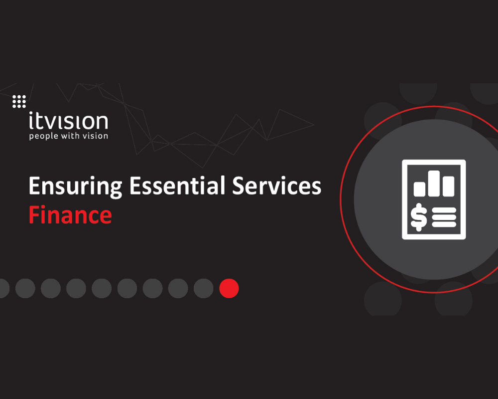 Ensuring Essential Services - Finance Process Management